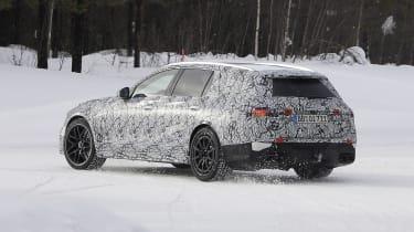 Mercedes-AMG C63 Estate 2021 spy - qiarter