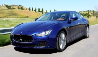 2013 Maserati Ghibli S Q4 blue