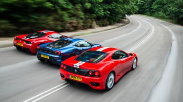 Ferrari Trio rear