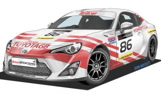 Toyota GT86 goes racing