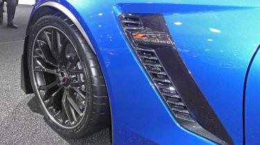 Chevrolet Corvette Z06 Convertible side vent