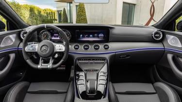 Mercedes GT 53 4-door - interior