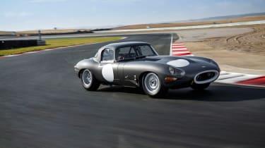 Lightweight Jaguar E-Type - front