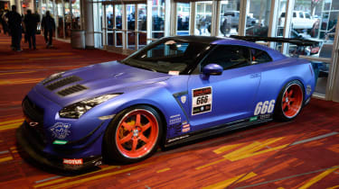 Tuned Nissan GT-R