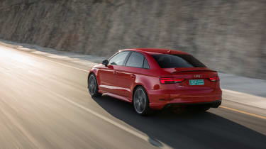 Audi RS3 Saloon Red rear