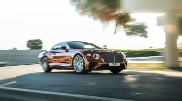 Bentley Continental GT V8 - front quarter