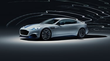 Aston Martin Rapide E - front quarter