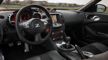 2013 Nissan 370Z interior dashboard