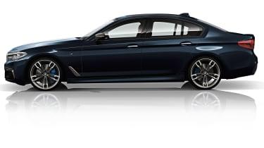 BMW M550d xDrive front saloon 2