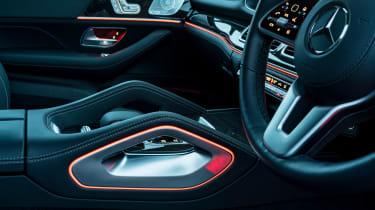 Mercedes GLS400d UK drive - lighting