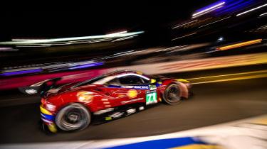 Le Mans 2017 - Ferrari cornering