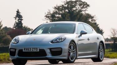 New Porsche Panamera Turbo silver front