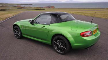 Mazda MX-5 Sport Black roof up