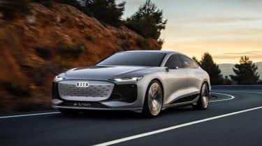 Audi A6 e-tron Concept - front tracking