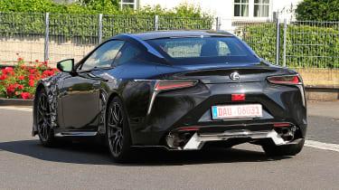 Lexus LC F prototype - rear quarter