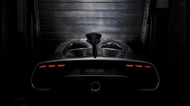 Mercedes-AMG Project one teaser rear