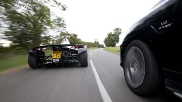 Morgan 3 Wheeler v Vauxhall Maloo v Mercedes ML63 v BAC Mono