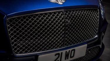 Bentley Continental GT Convertible Speed – grille