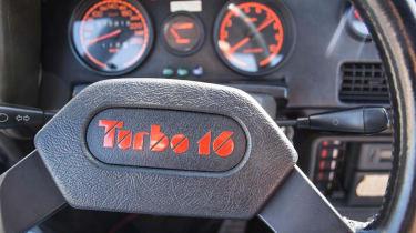 Peugeot 205 T16 PTS Clubman – steering-wheel