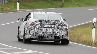 BMW M4 CSL spy 2021 – 9