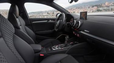 Audi S3 saloon cabin