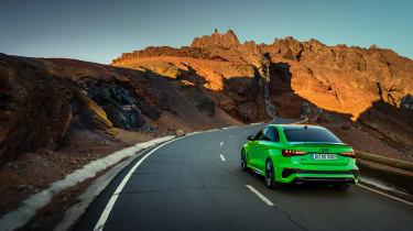 2021 Audi RS3 Saloon –rear
