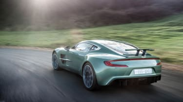 Aston Martin One-77 review and pictures