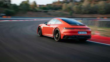 Porsche 911 GTS review (992) – rear quarter