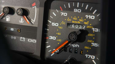 Ford Sierra Cosworth RS500 – odometer