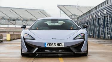 McLaren 570S Track Pack - front