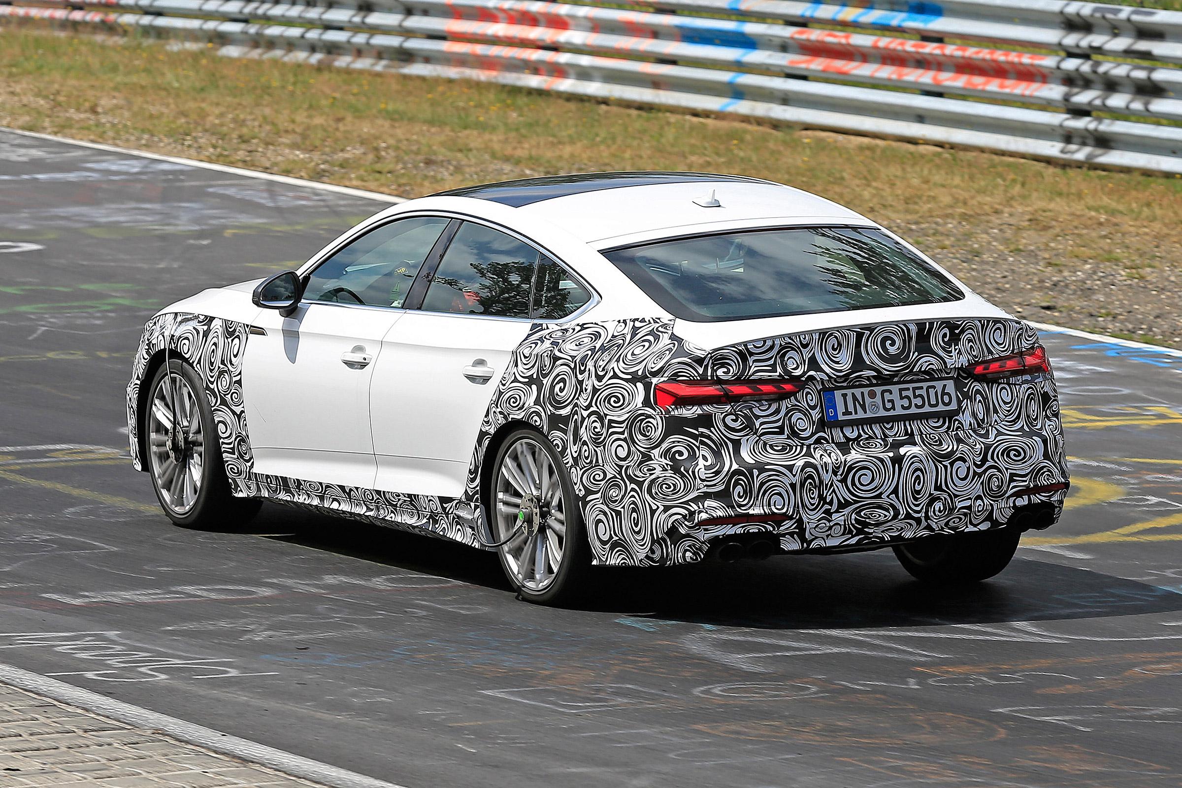 2020 Audi S5 Facelift Spied Before Reveal Alongside Rest Of