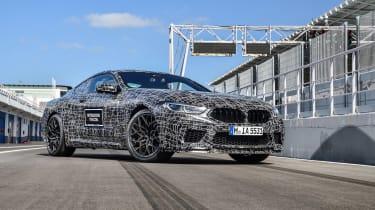 BMW M8 prototype - front static