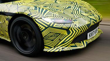 New 2018 Aston Martin Vantage spy shots detail