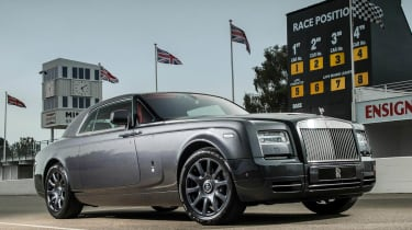 Rolls-Royce Phantom Chicane Coupe Goodwood motor circuit
