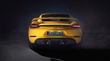Porsche 718 Cayman GT4 rear