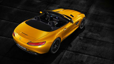 Mercedes-AMG GT S Roadster – top shot