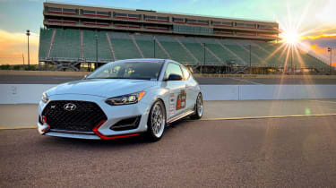Modified Hyundai Veloster N for SEMA 2018