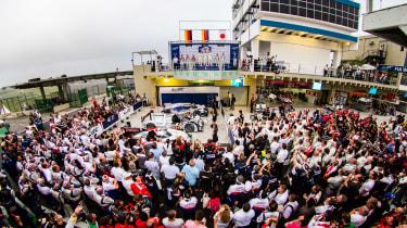 FIA WEC Brazil podium