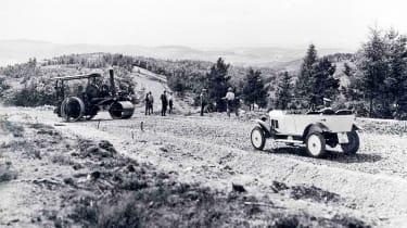 History of Nurburgring - b&w