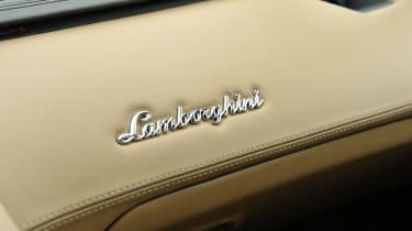 Lamborghini Aventador dashboard badge