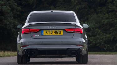 Audi RS3 Saloon - rear