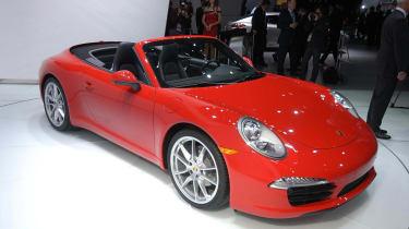 Detroit motor show: Porsche 911 Cabriolet