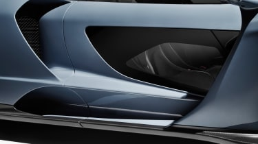 McLaren Senna – see-through doors