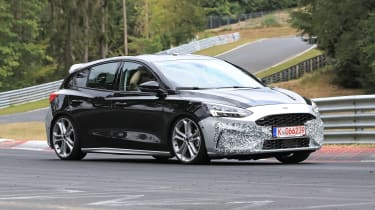 2019 Ford Focus ST prototype - front quarter