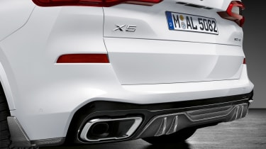 BMW X5 M Performance parts - tail