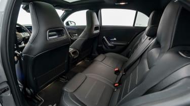 Brabus-tuned A-Class interior rear