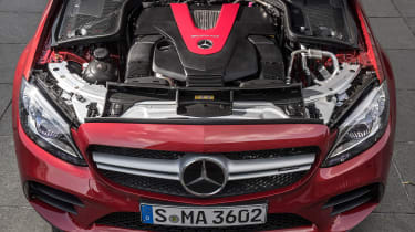 Mercedes-AMG C43 2018 facelift - engine