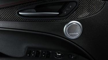 Alfa Romeo Stelvio QV drive - interior