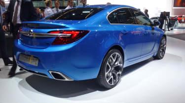 Vauxhall Insignia VXR blue