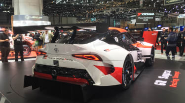 Toyota GR Supra Racing Concept - rear